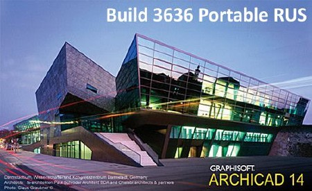 ArchiCAD 14 Build 3636 +Add-Ons (2010)х86 RUS Portable