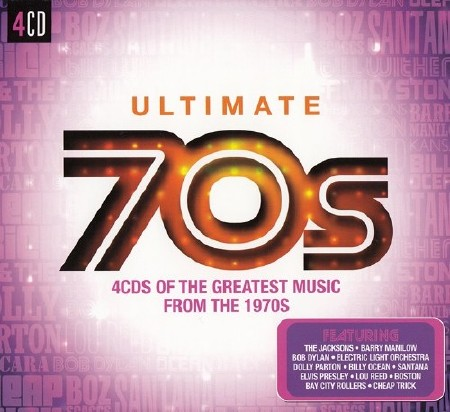 Ultimate 70s 4CDs of the Great Music from the 1970s (2015) FLAC