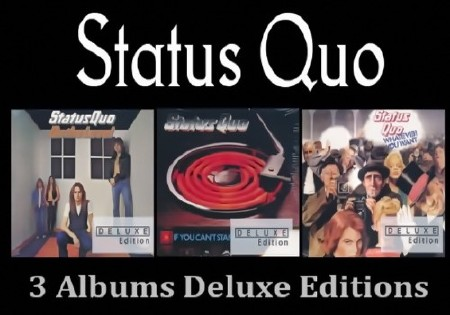 Status Quo - 3 Albums (Deluxe Editions) (2016) FLAC