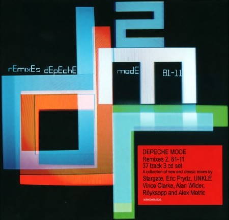 Depeche Mode - Remixes 2. 81 - 11 (3CD) (2011)