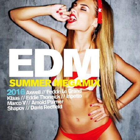 EDM Summer Megamix (2016) Mp3