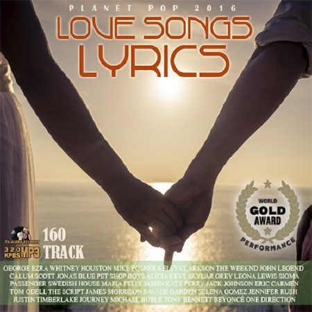 100 Planet Pop Love Songs Lyric (2016) Mp3