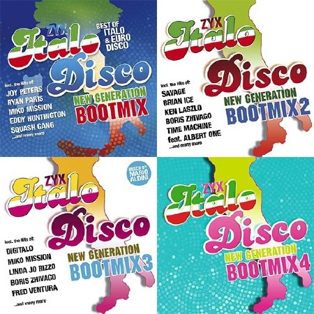 ZYX Italo Disco New Generation Bootmix 1-4 (2013-2016) Mp3
