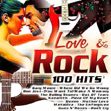Love And Rock 100 Hits (2017) Mp3