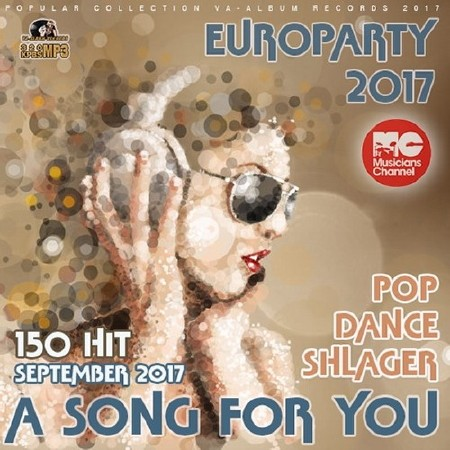 A Song For You Dance Europarty (2017) Mp3