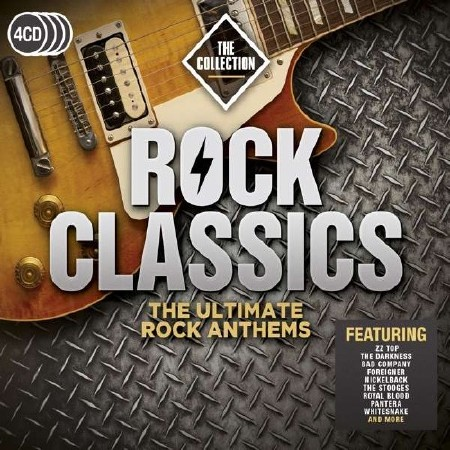 Rock Classics - The Collection: The Ultimate Rock Anthems (4CD) (2017)