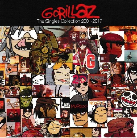 Gorillaz - The Singles Collection (Greatest Hits) 2001-2017 (2017) FLAC