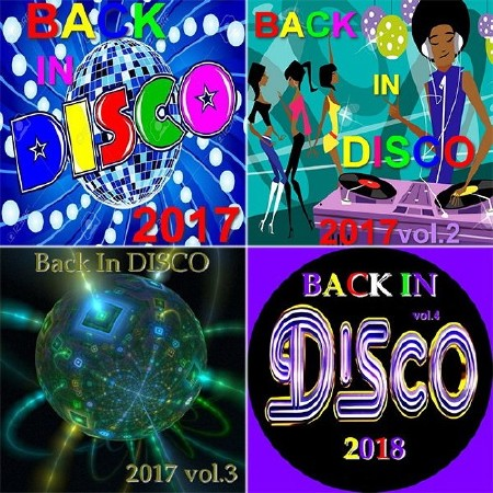 Back In Disco Vol. 1-4 (2017-2018) Mp3