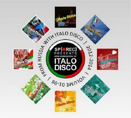 From Russia With Italo Disco Vol. 1-9 (10CD) (2012-2014)