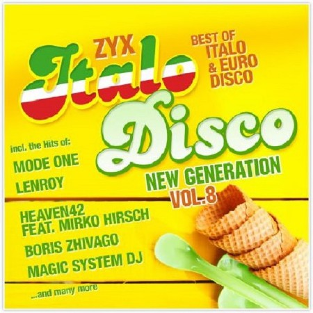 ZYX Italo Disco New Generation Vol. 8 (2CD) (2016)