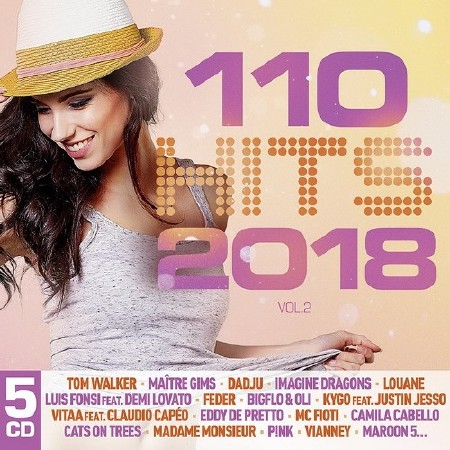 110 Hits 2018 Vol. 2 (5CD) (2018) Mp3