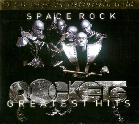 Rockets - Space Rock: Greatest Hits (5CD Box Set) (2014)