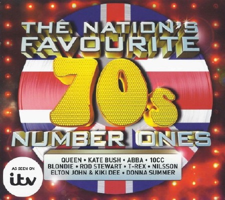 The Nations Favourite 70s Number Ones (3CD) (2015)