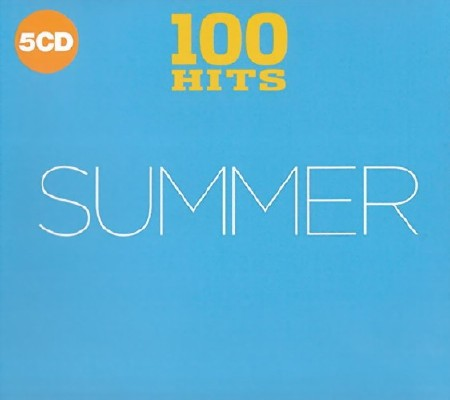 100 Hits - Summer (5CD Hits Digipack) (2018) Mp3