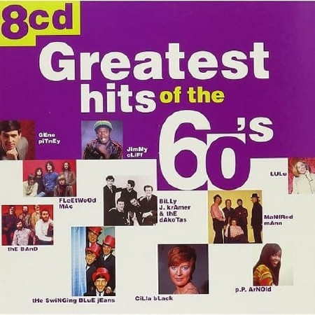 Greatest Hits of The 60s (8CD) (2000) Mp3