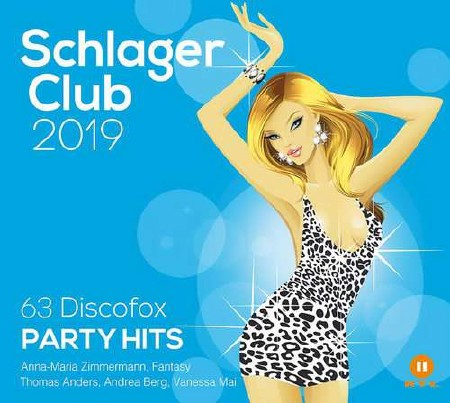 Schlager Club 2019 (63 Discofox Party Hits - Best Of) (3CD) (2018) Mp3