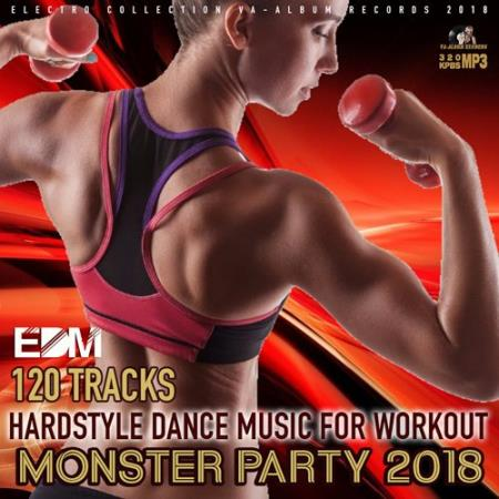 Hardstyle Dance Music For Workout (2018)
