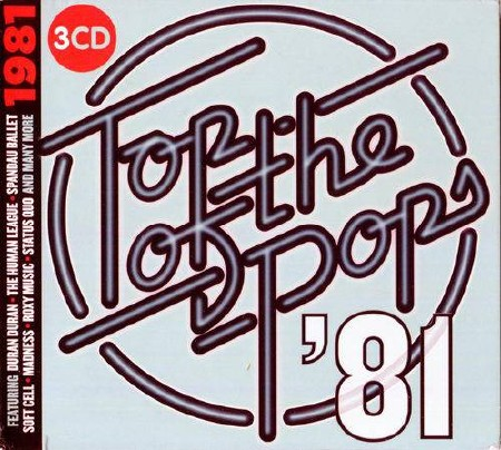 Top Of The Pops 1981 (3CD Box Set) (2017)