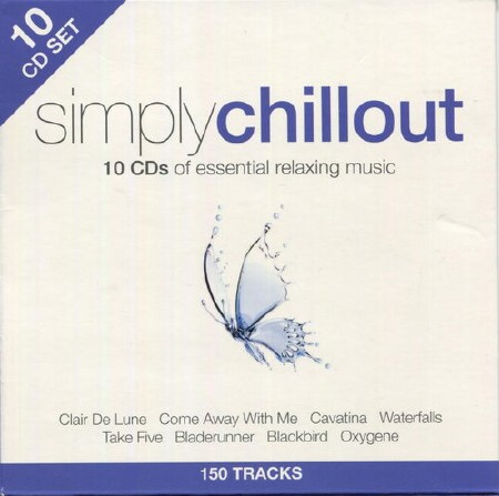 Simply Chillout (Box Set, 10CD) (2013)