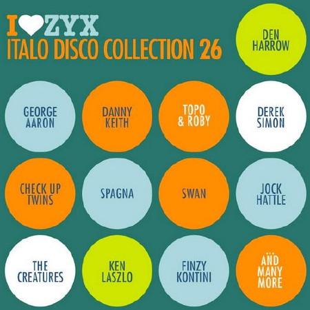 ZYX Italo Disco Collection 26 (3CD) (2018) Mp3