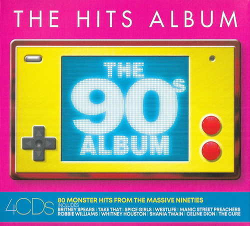 The Hits Album: The 90s Album (4CD) (2019)