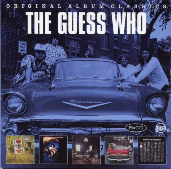 The Guess Who - Original Album Classics (5CD) (2016) FLAC
