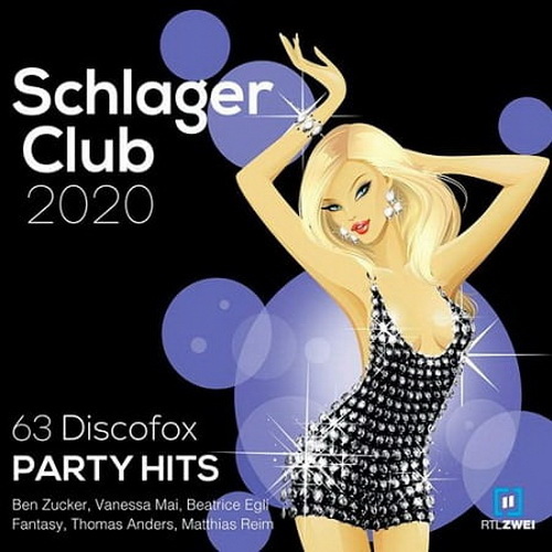 Schlager Club 2020 [63 Discofox Party Hits] (2019)
