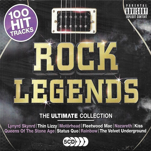Rock Legends: The Ultimate Collection (2018) FLAC