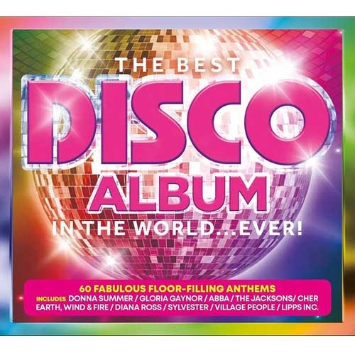 The Best Disco Album In The World... Ever! (3CD Box Set) (2019) FLAC