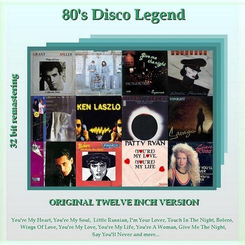 80s Disco Legend Vol. 1 - 11 (Remastering, Extended Version) (2008-2009)