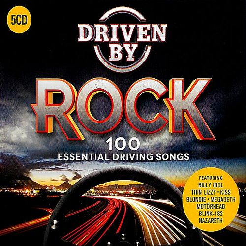 Driven by Rock: 100 Essential Driving Songs (5CD) (2018) FLAC