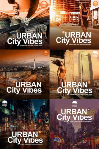 Urban City Vibes, vol. 1-6 (Urban Funk, Soul and Lounge Music) (2018-2020)  ...
