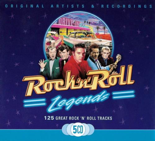 Rock N Roll - Legends (5CD) (2008)